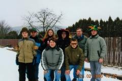 2006-02-25.Masken-Eisstockschießen beim Lacknerhof