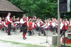 2006-07-02.Gästekonzert im Naturpark - 1. Pottschacher Musikverein