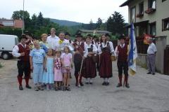 2006-07-22.Kapellmeister Rudolf Kurz - Ständchen zum 60er