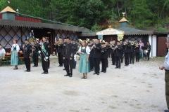 2006-08-05.Musikfest in der Römergrube - 45 Jahre Bergkapelle Hohe Wand