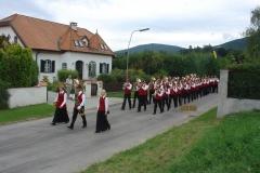 2006-09-03.Bezirksmusikfest - 155 Jahre 1. Pottschacher Musikverein