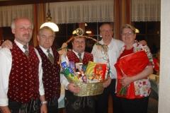 2007-03-17.''Schmirl-Wirt'' in Puchberg - Ständchen zum 60er