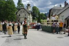 2007-07-01.Bezirksmusikfest in Schwarzau im Gebirge