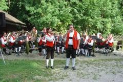 2007-08-12.Gästekonzert im Naturpark - MV Hochneukirchen