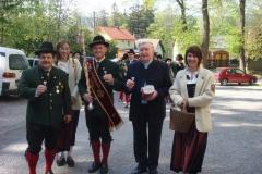 2008-04-27.KR Zygmunt Podljeski - Hl.Messe und Ständchen zum 75er