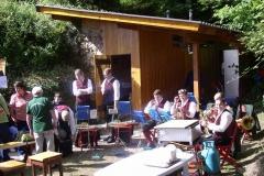 2008-08-08.Bergmesse und Frühschoppen auf der Steinfeldhütte