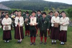 2008-09-13.Roland Schauer - Ständchen zum 40er beim Tag der Blasmusik