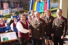 2008-10-05.Festmesse und Frühschoppen - 100 Jahre FF Ternitz-Dunkelstein