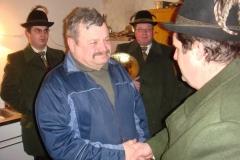 2009-01-10.''Haubi'' Hans Hauer - Ständchen zum 60er