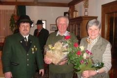 2009-02-28.Ehrenobmann Franz ''Tatzi'' Lackner - Ständchen zum 75er