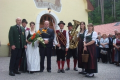 2009-05-30.Hochzeitsständchen für Judith Strebinger und Paul Palka