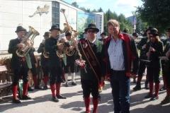 2009-07-11.Frühstück auf dem Schneeberg - Gönner ''Schwom'' Michl