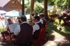 2009-08-16.Bergmesse und Frühschoppen auf der Steinfeldhütte