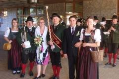 2009-09-05.Hochzeitsständchen für Susi Hainfellner und Hannes Wallner