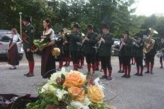 2009-09-26.Hochzeitsständchen für Ehepaar Streit