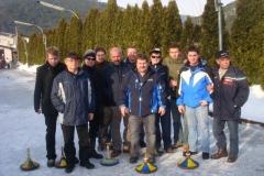 2010-02-13.Masken-Eisstockschießen beim Lacknerhof