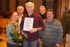 2010-02-23.Herbert Schauer - Ständchen zum 50er im Probelokal