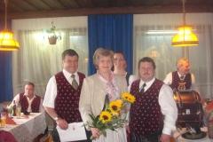 2010-05-01.Josef Hauer sen. - wir gratulieren zum 60er (1.Mai)