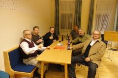 2011-03-29.Besuch des Bürgermeisters im Probelokal