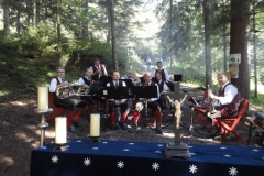 2011-08-07.Hl.Messe und Frühschoppen auf der Steinfeldhütte