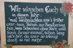2011-12-17. Erster Advent-Treff in Sieding