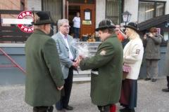 Ehrenmitglied Norbert.Strebinger - Ständchen zum 65er (01.11.2014)