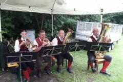 Hl. Messe (Quartett) - Hüttenfest D'Steinfelder (06.08.2017)
