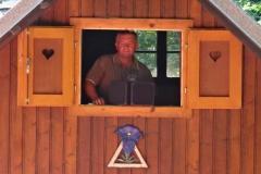 Hl.Messe und Frühschoppen auf der Steinfeldhütte (04.08.2013)
