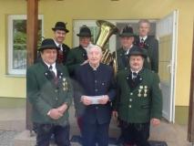 Hr. Pfarrer  KR Podljeski -  Gratulation zum 85er (29.04.2018)