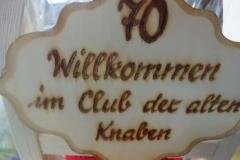 Vizebgm.aD. Karl Reiterer - Ständchen zum 70er (08.09.2017)